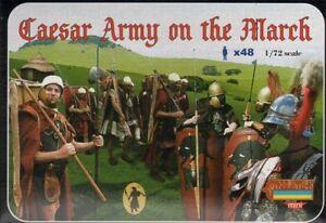 Strelets 1/72 Roman Caesar Army on the March # M087