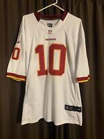 Robert Griffin III Washington Redskins #10 Nike NFL Football Jersey XL