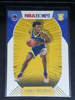 2020-21 Panini NBA Hoops JAMES WISEMAN RC #205 WINTER PARALLEL Warriors ROOKIE