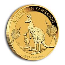Goldmünze Känguru 2020 100 Dollar Australien 1 oz in Stempelglanz