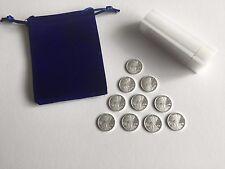 TEN 1/10 Ounce .999 Pure Silver Rounds Bullion ☆ Popular Walking Liberty Design