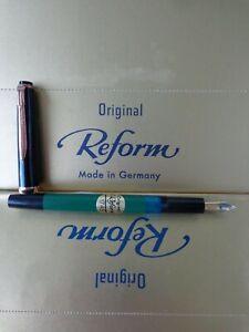 1745 Reform antique piston filled fountain pen unperfect clip 60 ´s NEW -B-Q