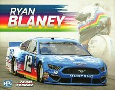 2019 Ryan Blaney #12 PPG Postcard