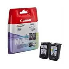 CARTUCCE CANON MultiPack BLACK+COLOR PG-510 CL-511 2970B010