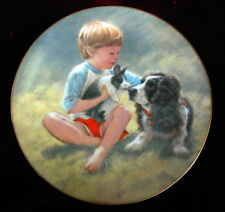 "Hamilton Collection Plate ""LOOK ALIKES"" The Magic of Childhood 1985 Roman Inc."