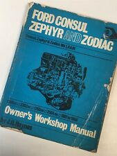 Ford Consul Zephyr And Zodiac Owner`s Workshop Manual Paperback BOOKS