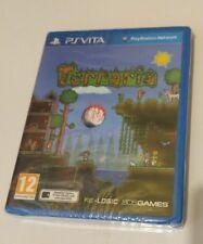Terraria PS Vita New Sealed UK PAL Sony PlayStation PSV Teraria Terrera Terarria