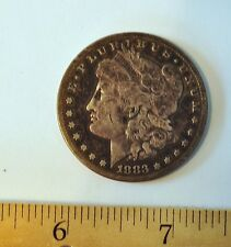 "1883 Morgan ""S"" Silver Dollar"