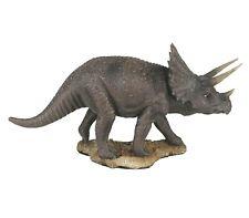 "Triceratops Dinosaur Resin Figurine Miniature Statue 8""L New"