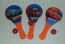 Disney Pixar Cars Paddle Ball Party Favors Lightning McQueen Mator McMissile