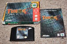 Turok 2 Seeds of Evil PC Player's Choice (Nintendo 64 n64) Complete in Box FAIR