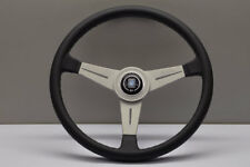 NARDI CLASSIC 390MM Leather White Anodized Spoke Steering Wheel - 6061.39.1001