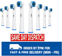 2-8 Heads For Braun Oral-B Vitality 3D White Rechargeable Electric Toothbrush UK