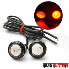 Head Hunters Motorcycle Eagle Eye Neon Color LED Fog Light 4
