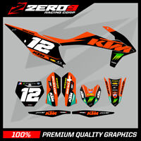 KTM MX MOTOCROSS GRAPHICS SX SXF EXC EXCF 125 - 450 2011 - 2020 GREEN ENERGY