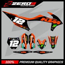 KTM MX MOTOCROSS GRAPHICS SX SXF EXC EXCF 125 - 450 2011 - 2020 GREEN ENERGY