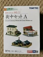 TOMYTEC Building Collection Kenkore 165 Town Set A 1/150 N Scale Diorama