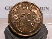 5097(8)(14) - 50 CENTIMES - MORLON - Br/ALU - 1938 - QUALITE SPL !