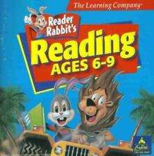 Reader Rabbit Reading: Ages 6-9 PC MAC CD learn to read words phonics kids game!
