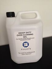 Heavy Duty Oven Cleaning Gel (caustic based) 5L