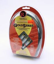 1503024 RadioShack GoldSeries Audio / Video Cable with S Video 6' *New*