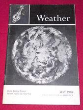 WEATHER - TETROON FLIGHTS - May 1968 Vol XXIII #5