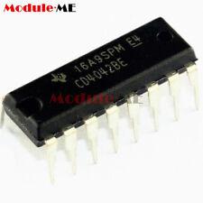 5PCS Original CD4042 CD4042BE CMOS Quadruple Clocked D Latch DIP-16