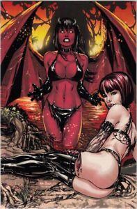 Purgatori #3 NM Jay Company Virgin Variant Eric Basaldua Cover Ltd 100 (2005)