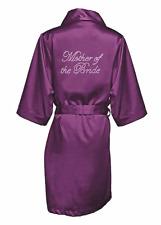 Bridal party robe, bridesmaid satin robe, personalised satin robe, wedding