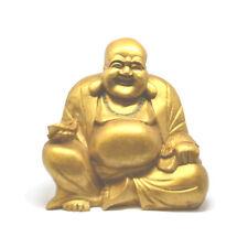 20cm Gold Chinese Laughing Buddha