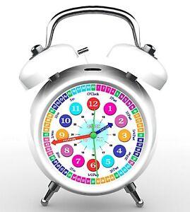 Kids Alarm Clock Time Teacher Bedroom Table Alarm Clock Office Table Clock 17CM