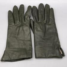 Vintage Gates Black Natural Leather Gloves size M