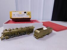 SUNSET MODEL HO SCALE BRASS C & O 2-10-2 STEAM LOCOMOTIVE & TENDER EX/BOX
