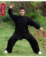 Kung Fu Tai Chi Cotton Uniform Martial Arts Taiji Wing Chun Wushu Clothing Suit