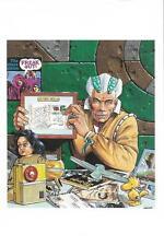 Carte postale numérotée - 4e Salon TOURS-Collections 1992 - Dessinateur MANCHU