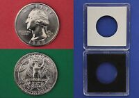 1989 D George Washington Quarter With 2x2 Case from Mint Set Flat Rate Shipping
