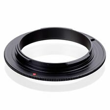 62mm Lens Mount Reverse Macro Adapter Ring  for OM 4/3 Olympus DSLR Camera