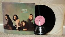 FREE FIRE AND WATER UK PRESS PINK ISLAND LP A1 B1 MATRIXES VG