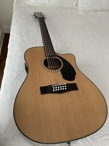 Fender CD-60SCE 12 string acoustic electric guitar