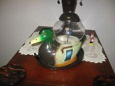 Vintage Carousel Industries Duck Gumball Machine Mallard Duck *Fully Functional*