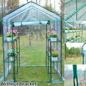 Mini Greenhouse Outdoor Garden Plants Grow Balcony PVC Cover Without Frame