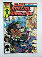 1986 G.I. Joe Special Missions #2 Marvel Copper Age COMIC BOOK