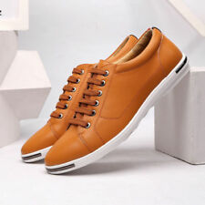 Men Casual Leather Shoes Classic Business Dress Formal Loafers Breathable Flats