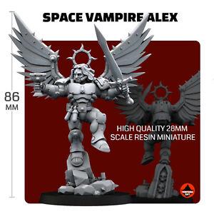 Space Vampire Alex (Can use as Proxy Sanguinor, True Scale)