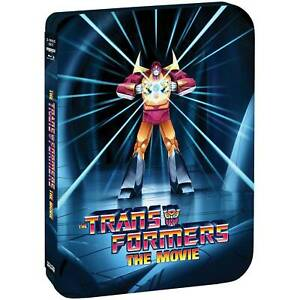 The Transformers: The Movie 35th Anniversary Edition New 4K Ultra HD Steelbook