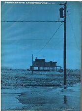 rivista - PROGRESSIVE ARCHITECTURE ANNO 1967 NUMERO 7