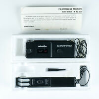 Minolta FM-Wireless (Microphone) Kit II for Sound Movie Cameras w/Box & Manual