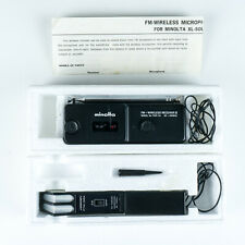 Minolta FM-Wireless (Microphone) Kit II for Sound Movie Cameras w/Box & Manual