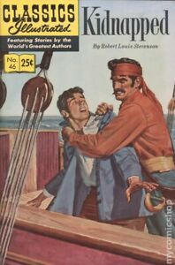 Classics Illustrated 046 Kidnapped #16 VG 1970 Stock Image Low Grade
