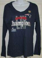 New England Patriots NFL T-Shirt - Women's V-Neck 2019 Super Bowl LIII Champions